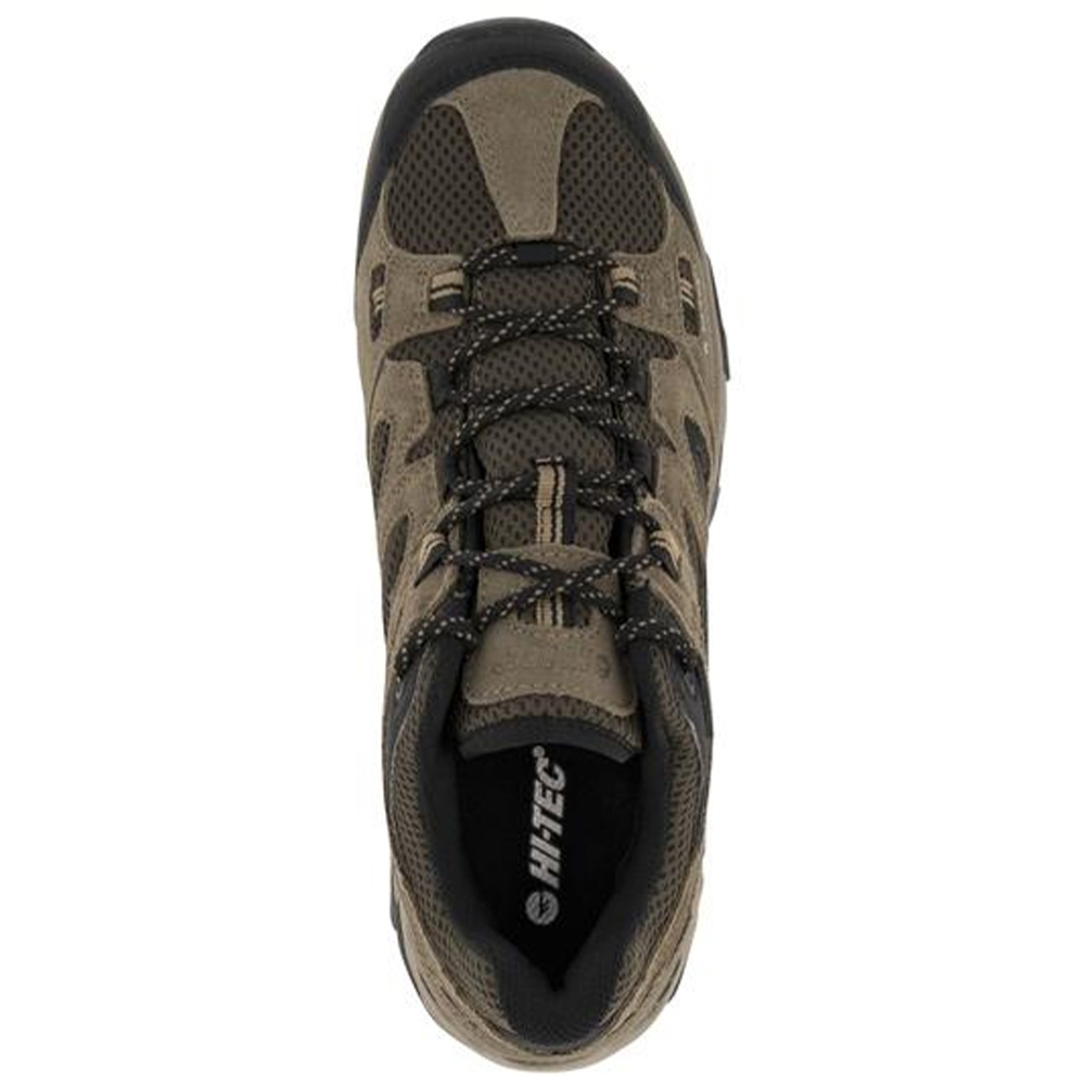 Hi-Tec Ravus Vent Low WP Men's Shoe - Suede upper with synthetic trim and breathable mesh underlay