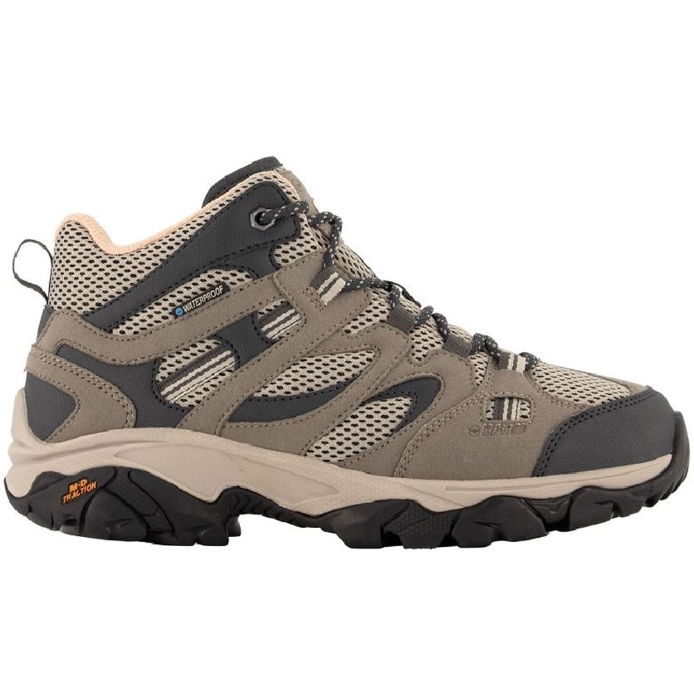 Hi-Tec Ravus Vent Mid WP Wmn's Boot - Lightweight durable synthetic and mesh upper provides comfort and flexibility