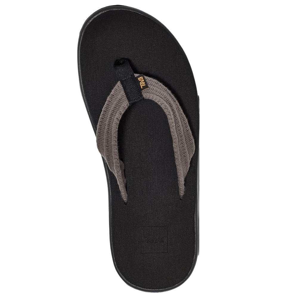 Teva Voya Canvas Flip Men's Thong - Mush® topsole cushions and forms to your foot for amazing comfort