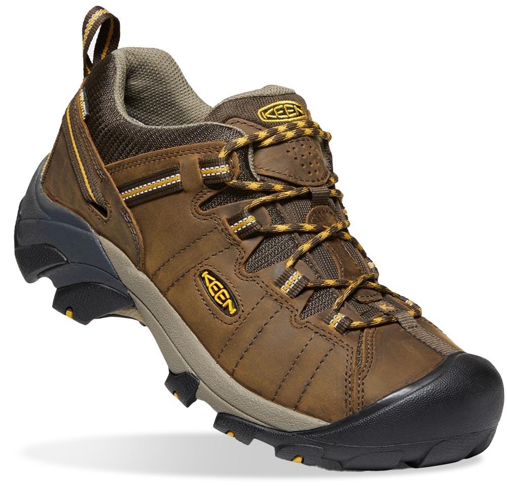 Keen Targhee II WP Men's Shoe Cascade Brown Golden Yellow
