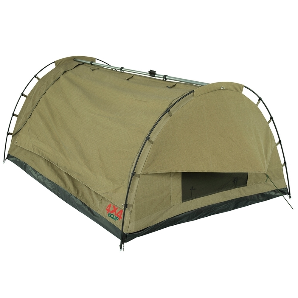 4x4 Equip Dual Cab Double Swag - Waterproof 400GSM ripstop poly-cotton canvas