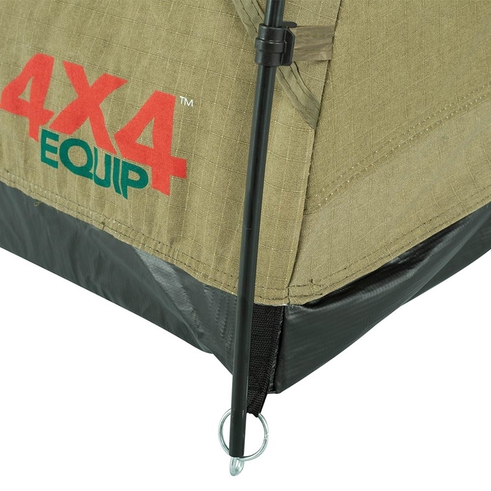 4x4 Equip Dual Cab Double Swag - PVC bucket floor to keep water out