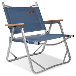 Black Wolf Sundowner Folding Chair Captains Blue