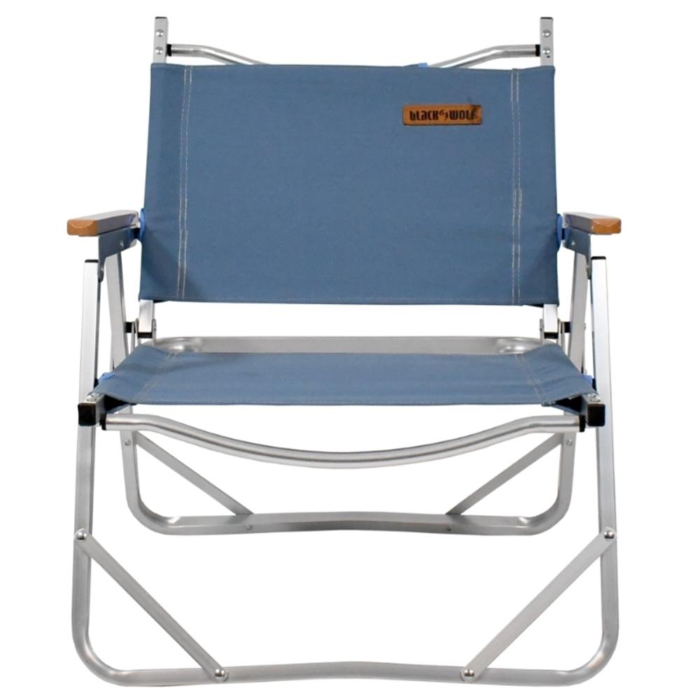 Black Wolf Sundowner Folding Chair - Lightweight yet strong aluminium frame