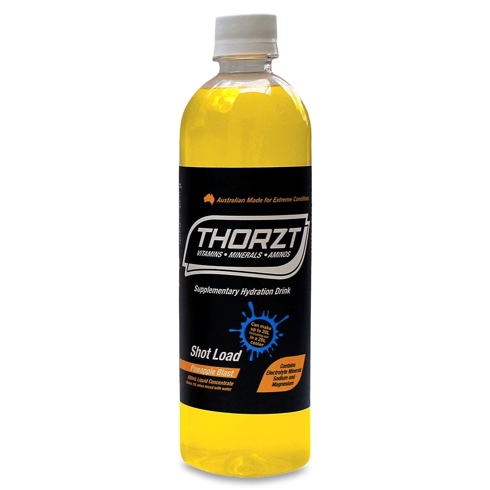 Thorzt Liquid Concentrate Mixed Flavours 600ml 10 Pack - 600ml bottle makes 10L