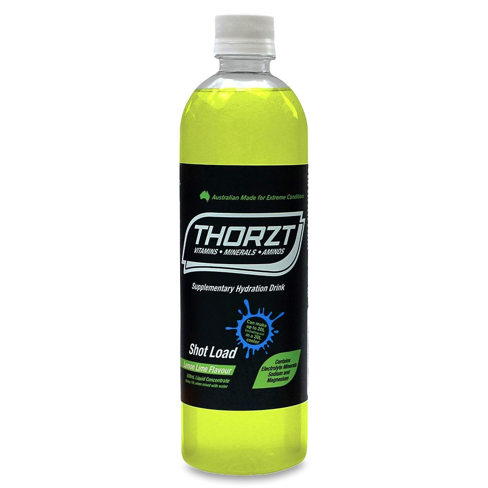 Thorzt Liquid Concentrate Mixed Flavours 600ml 10 Pack - Gluten and caffeine free
