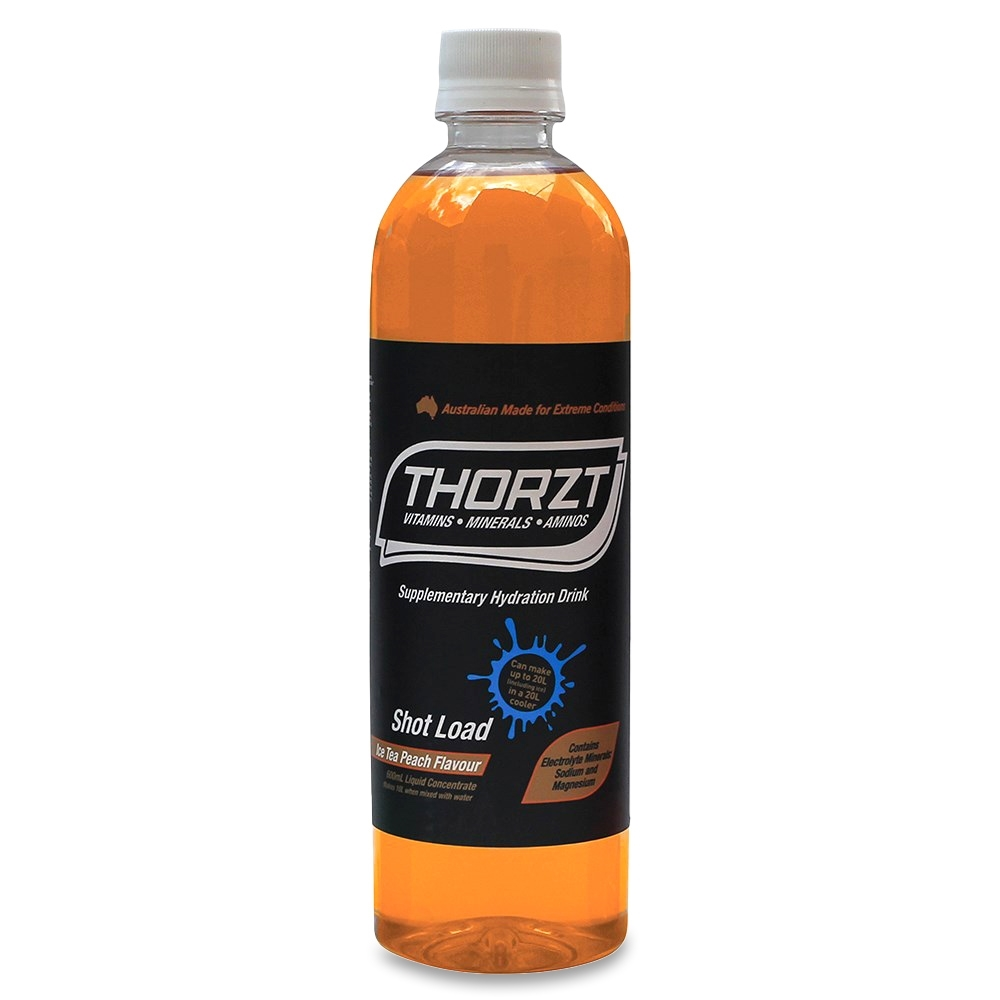 Thorzt Liquid Concentrate Mixed Flavours 600ml 10 Pack - Proprietary electrolyte formula