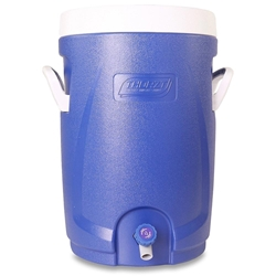 Thorzt Drinks Cooler 20L Blue - Screw top lid to give wide access for ease of cleaning and filling with ice
