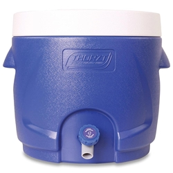 Thorzt Drinks Cooler 10L Blue - Screw top lid to give wide access for ease of cleaning and filling with ice