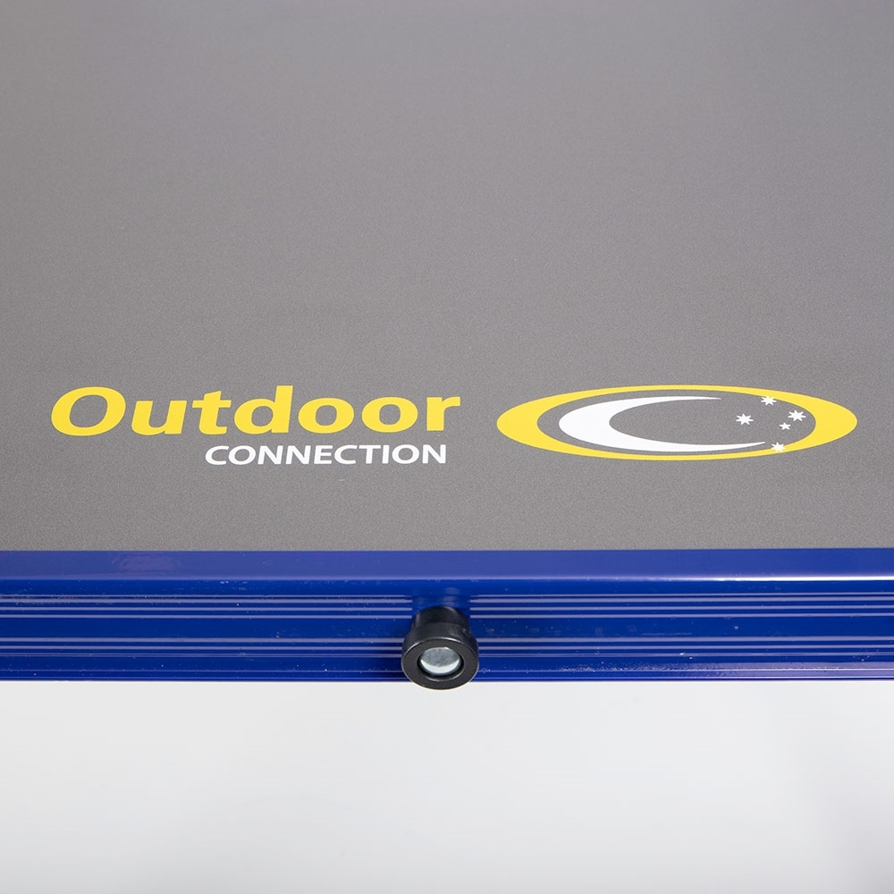 Outdoor Connection Tri-Fold High Table - AluPlas waterproof table top with Aluminium surround