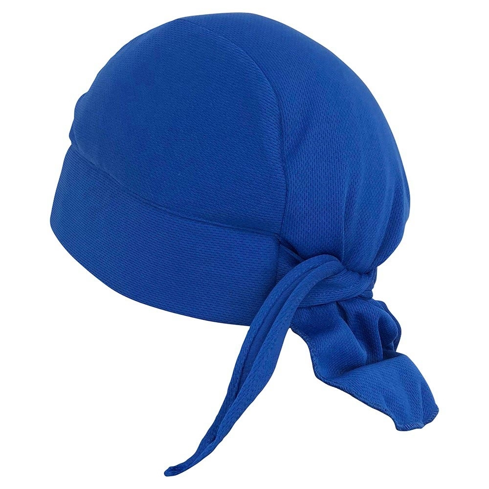 Thorzt Cooling Cap - Adjustable ties at the nape of the neck