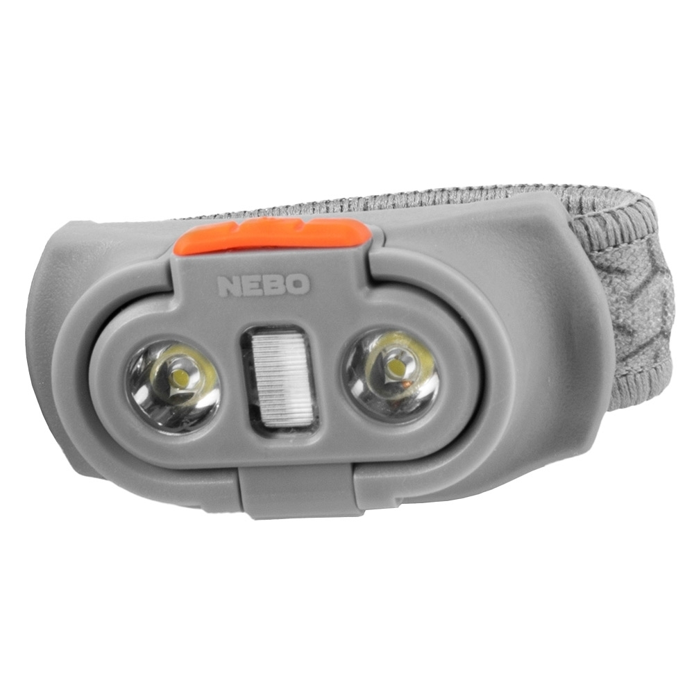 NEBO Einstein 500 Battery Operated Headlamp - Durable ABS construction
