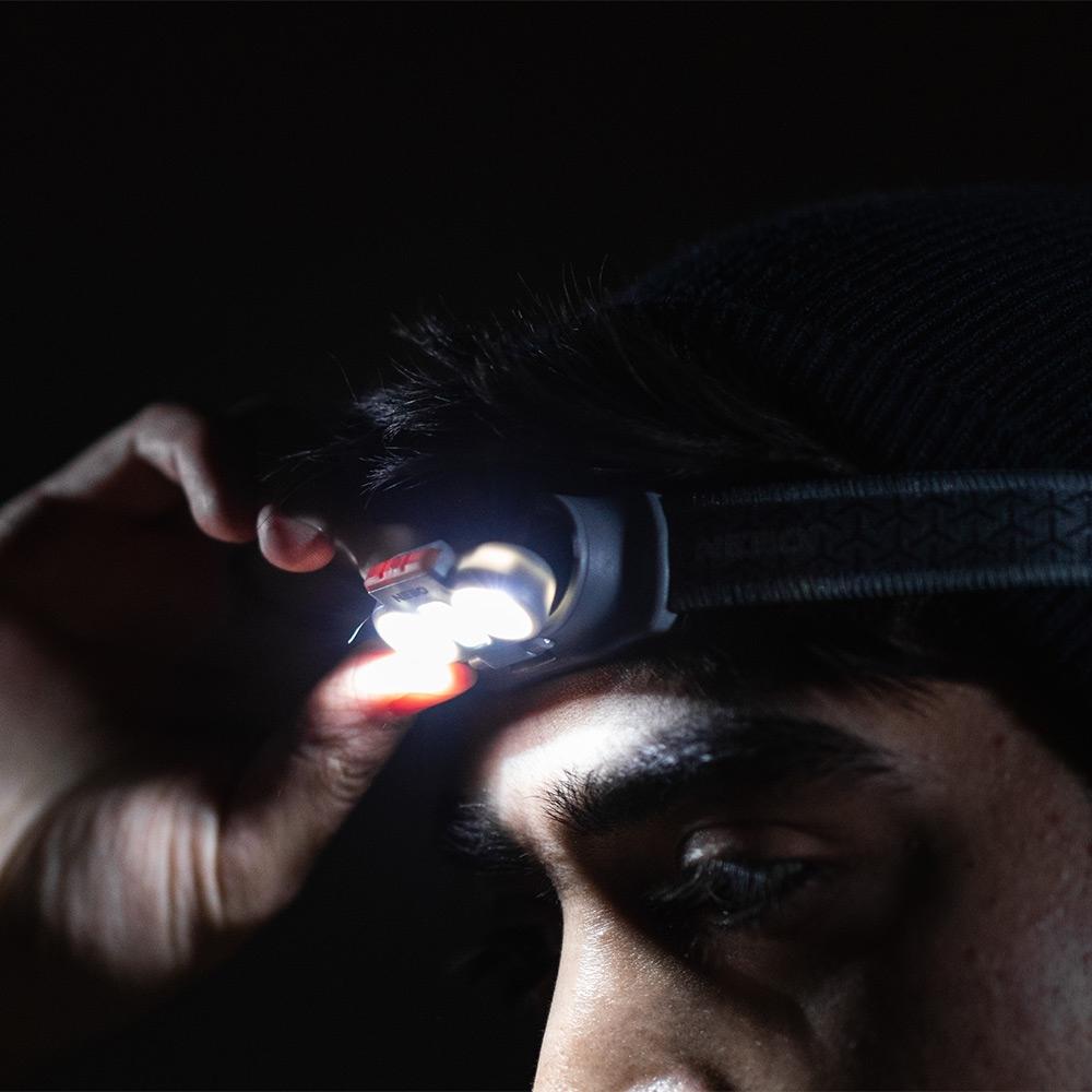 NEBO Einstein 500 Battery Operated Headlamp