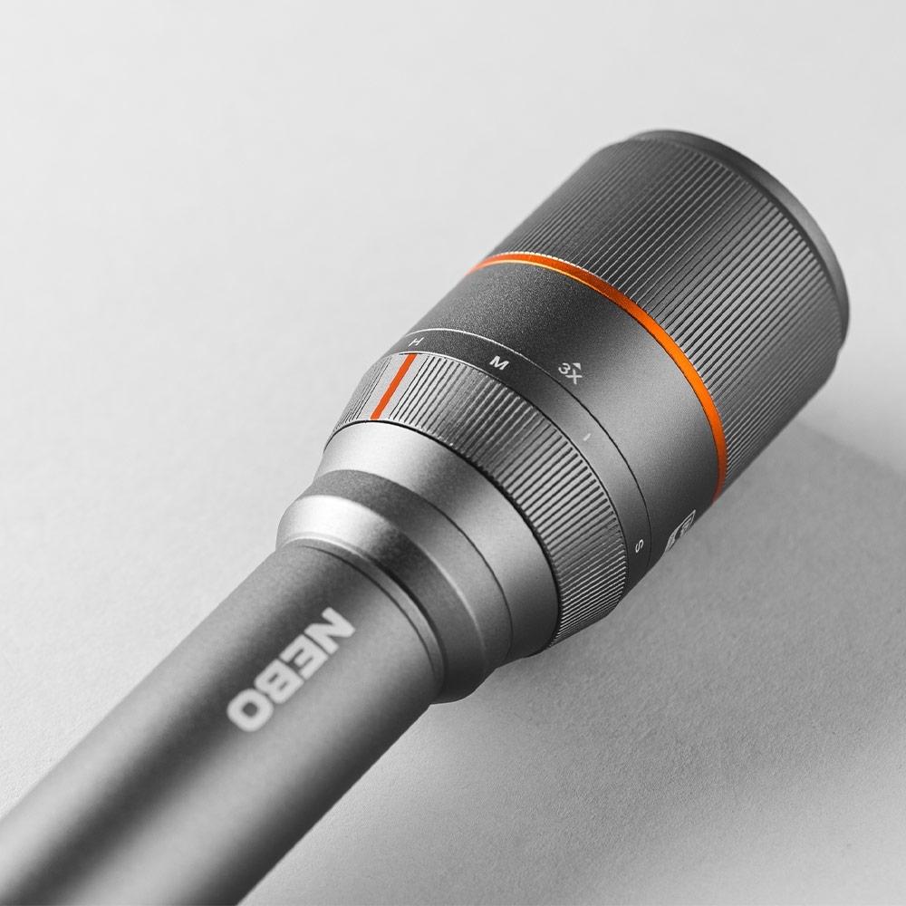 NEBO Davinci 3500 Rechargeable Flashlight -