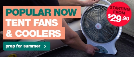 Popular this month: Tent Fans & Coolers at everyday low prices