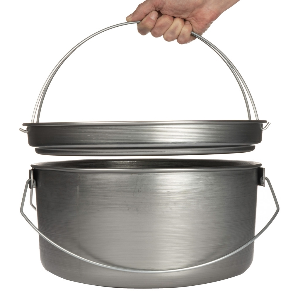 """Southern Metal Spinners Aussie Camp Oven - 15"""" lid"""
